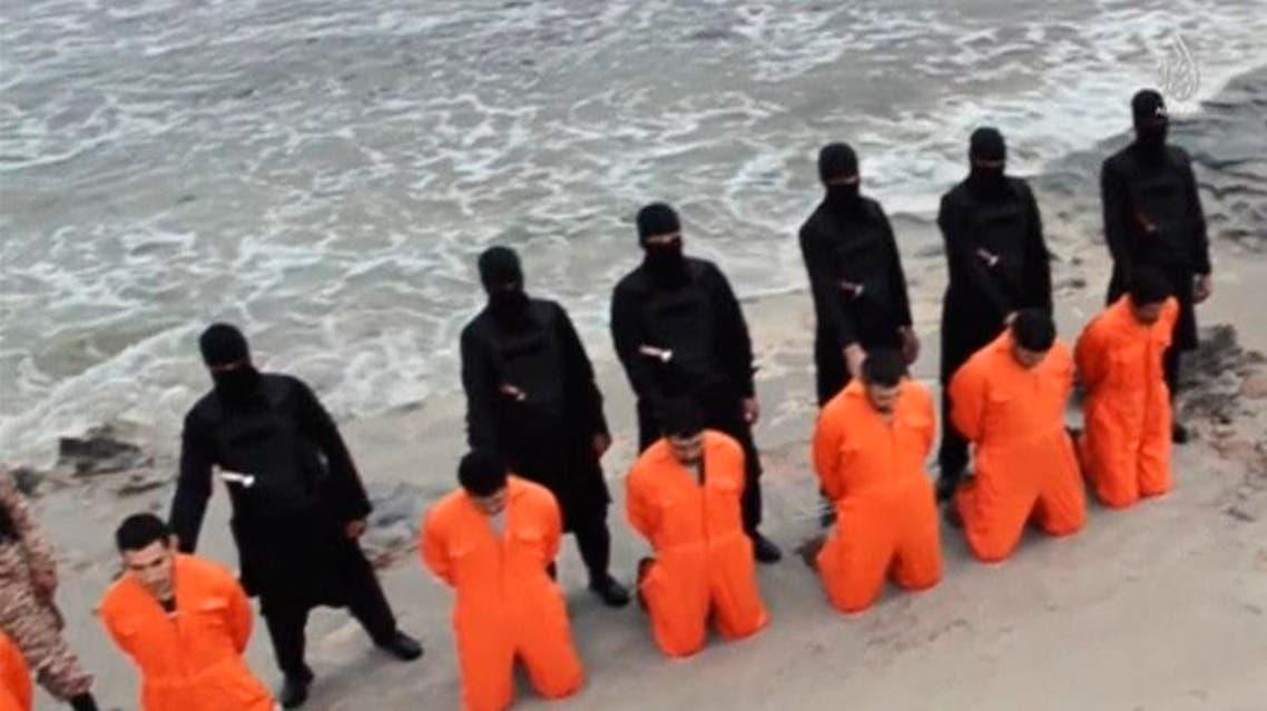 أقباط اقباط ذبح داعش ليبيا