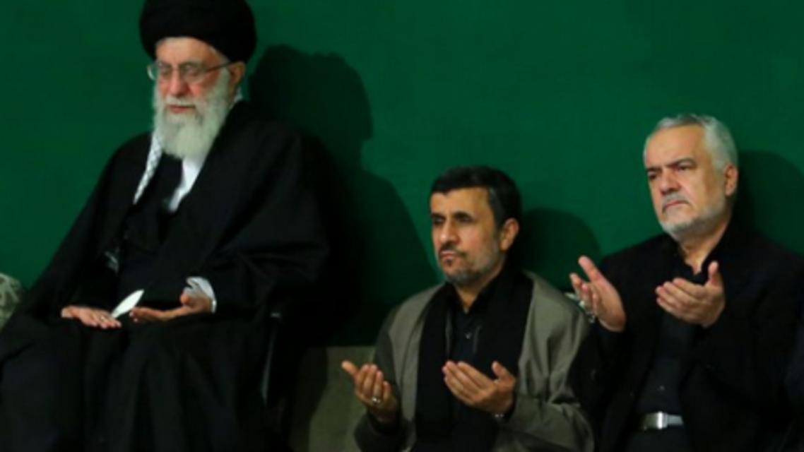 محمد رضا رحيمي(من اليمين)