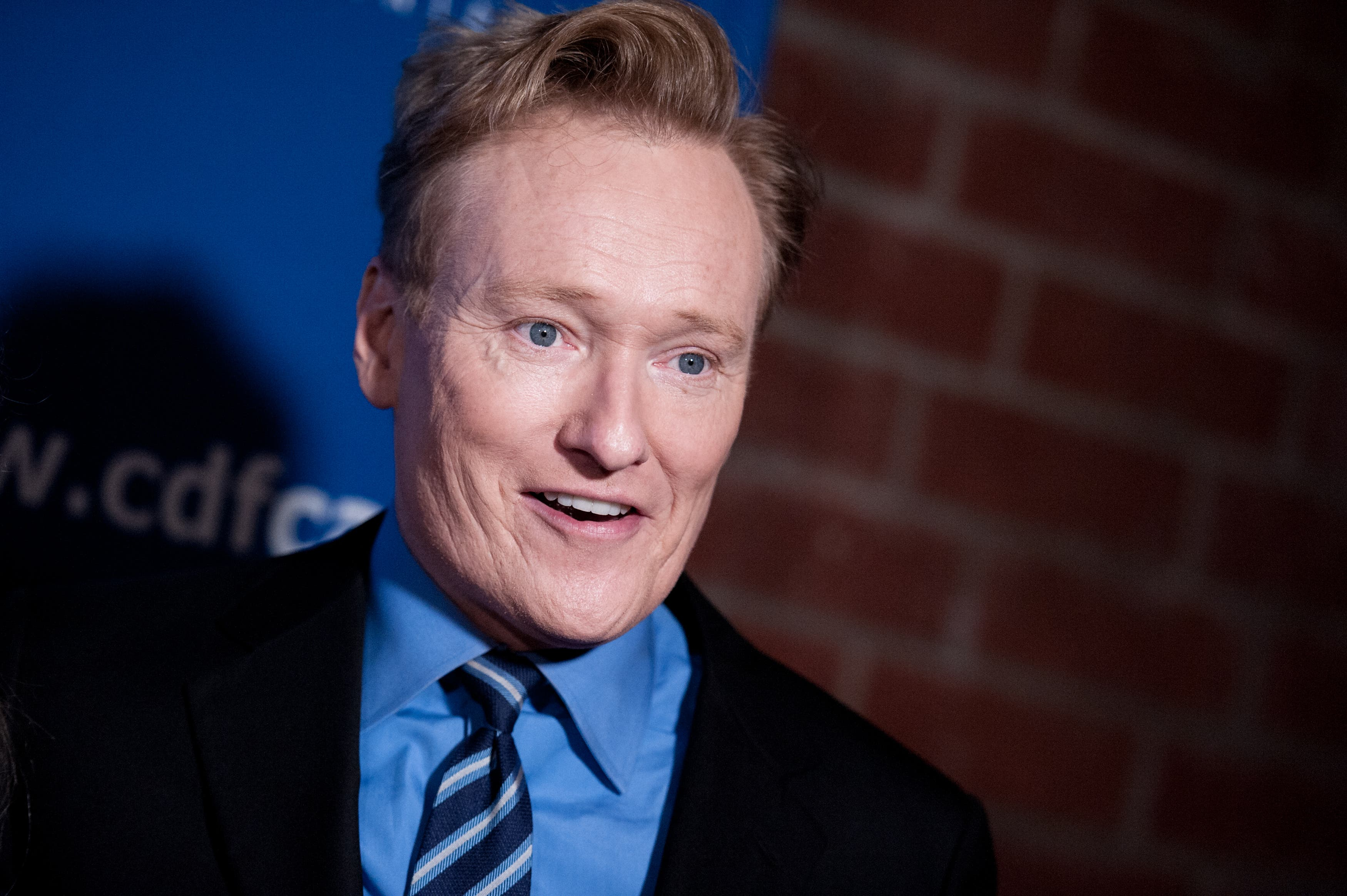 Conan O'Brien arrives at the 24th Annual Beat The Odds Awards on Thursday, Dec. 04, 2014, in Culver City, Calif. (File photo: AP)