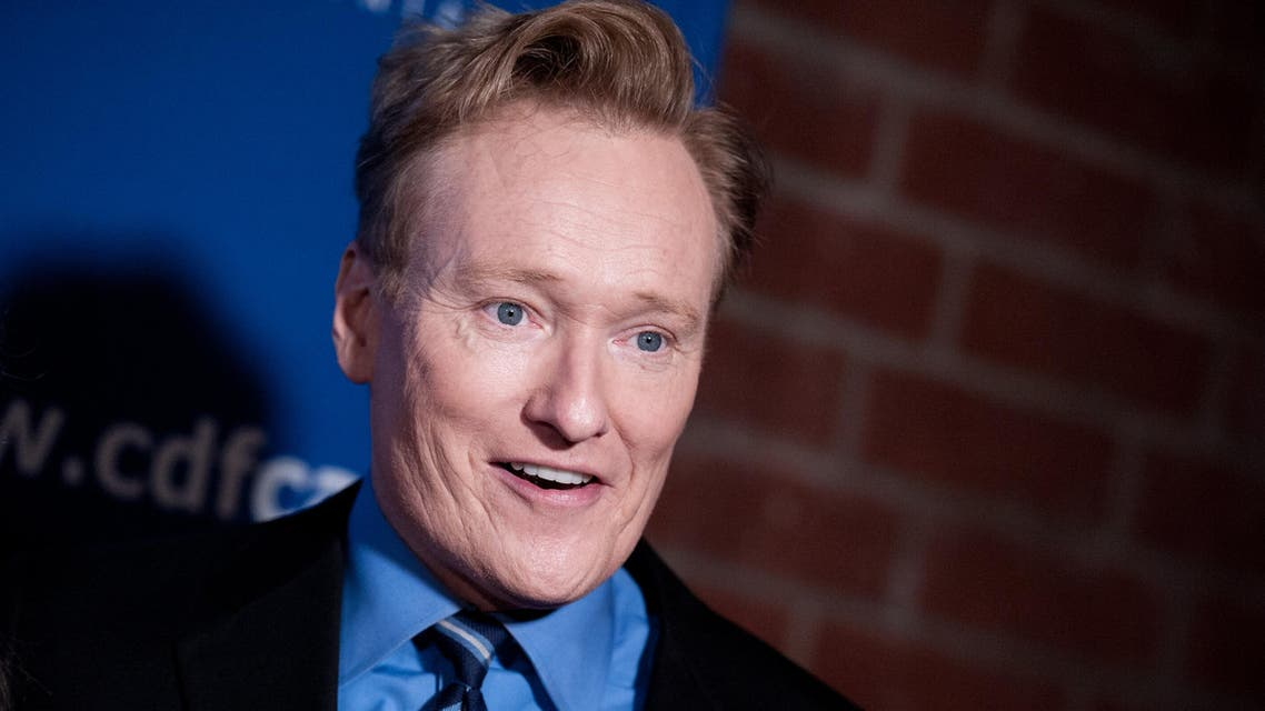 Conan O'Brien arrives at the 24th Annual Beat The Odds Awards on Thursday, Dec. 04, 2014, in Culver City, Calif. (AP)