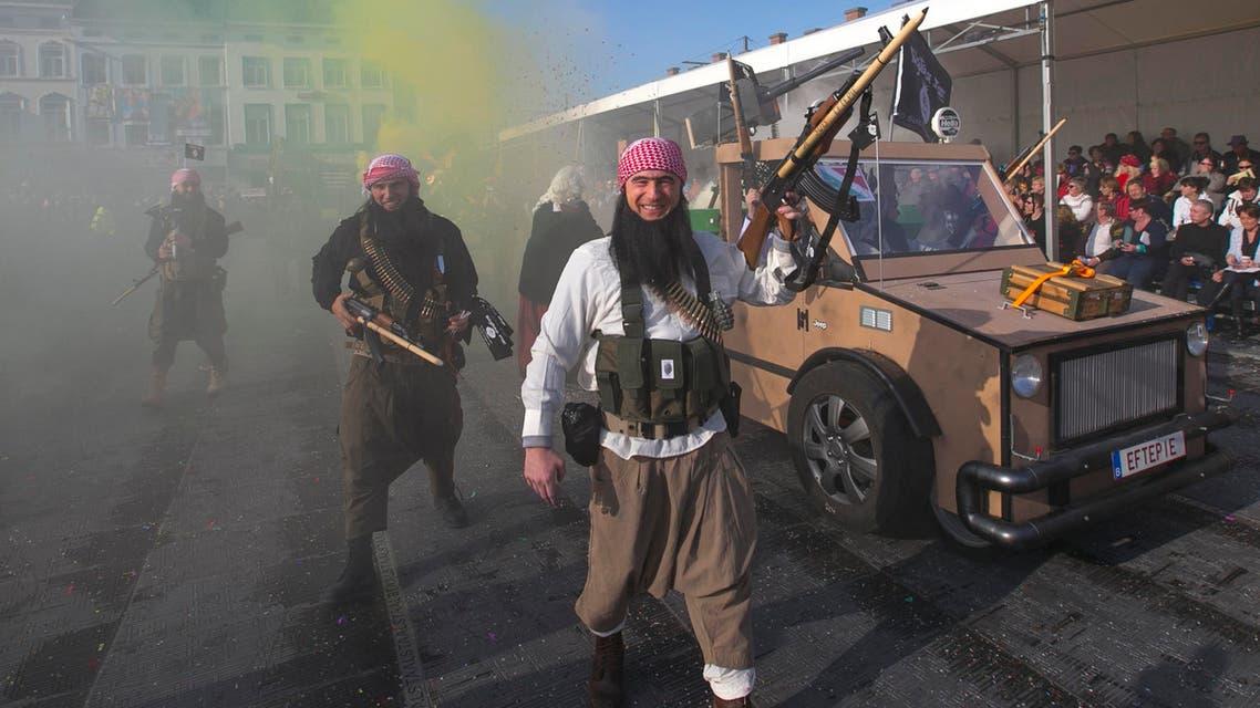 Parade mocks ISIS (Reuters)