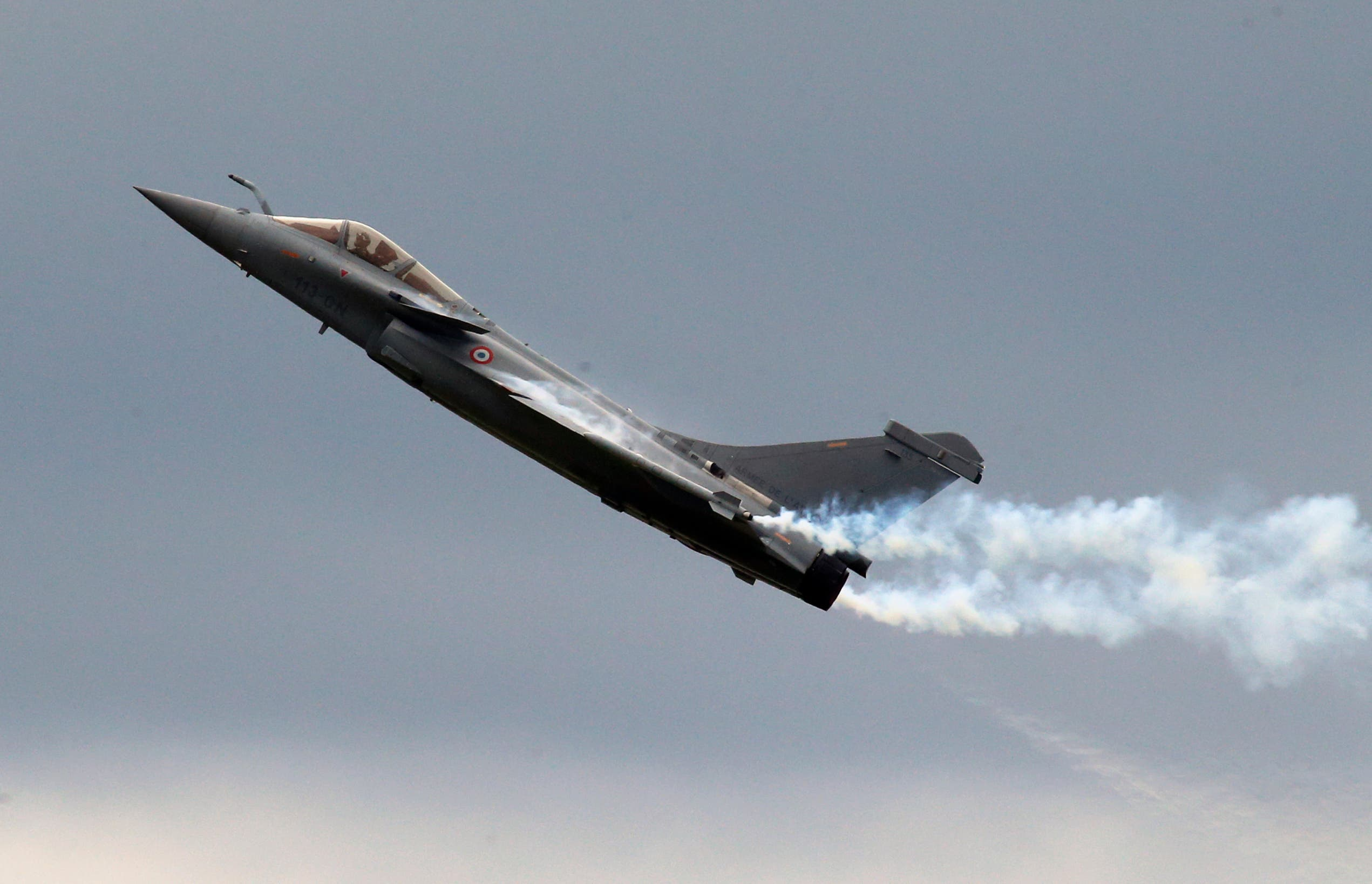 Egypt became the first foreign buyer of French Rafale fighter jets. (File photo: AP)