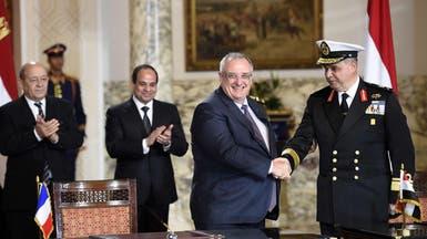 """فرنسا توقع مع مصر عقداً لتصدير 24 مقاتلة """"رافال"""""""