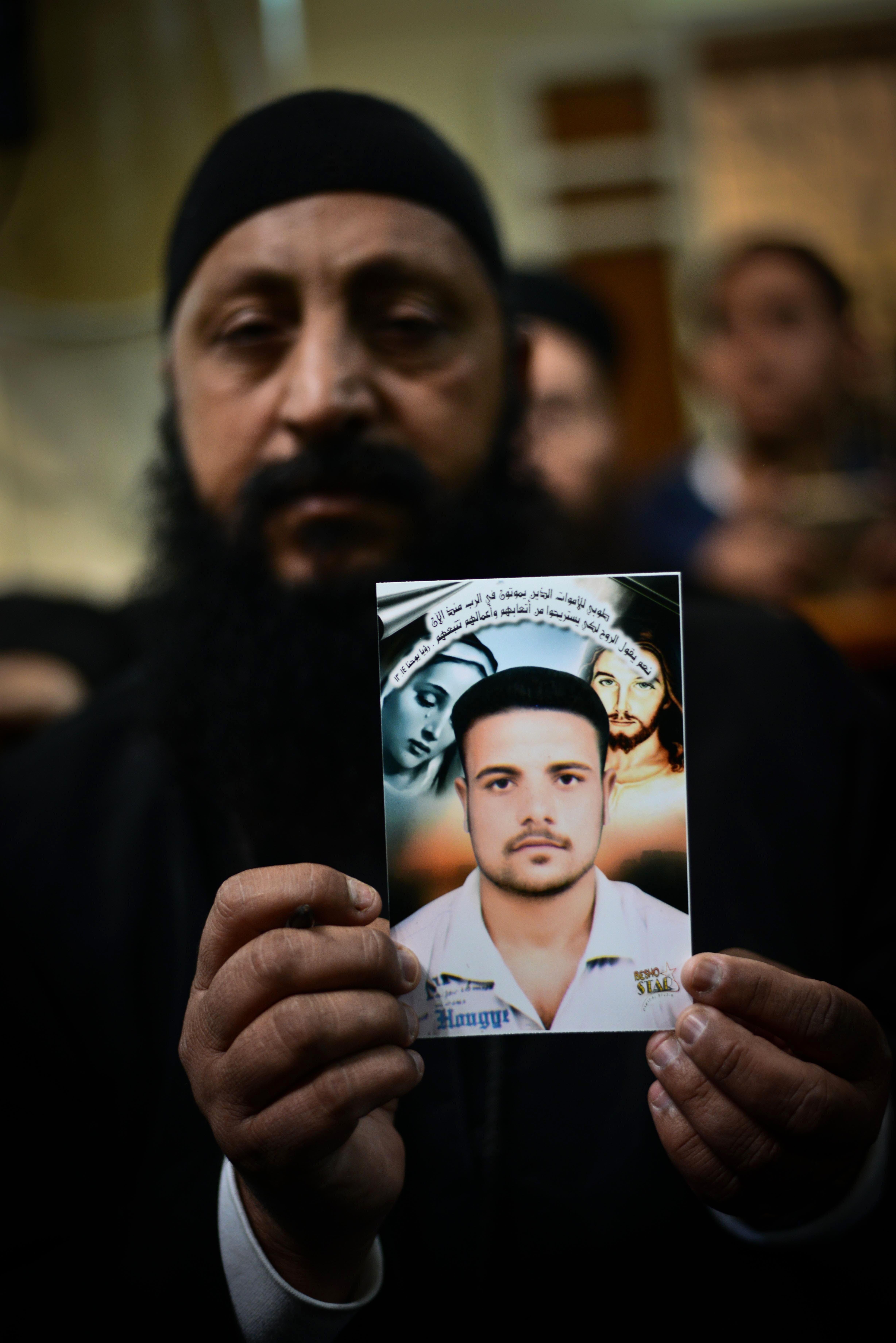 Egypt's Copts mourn Libya beheadings