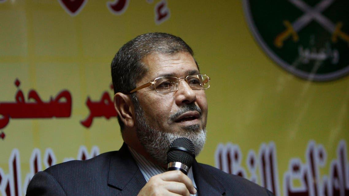 Egypt Mohammad Mursi AP