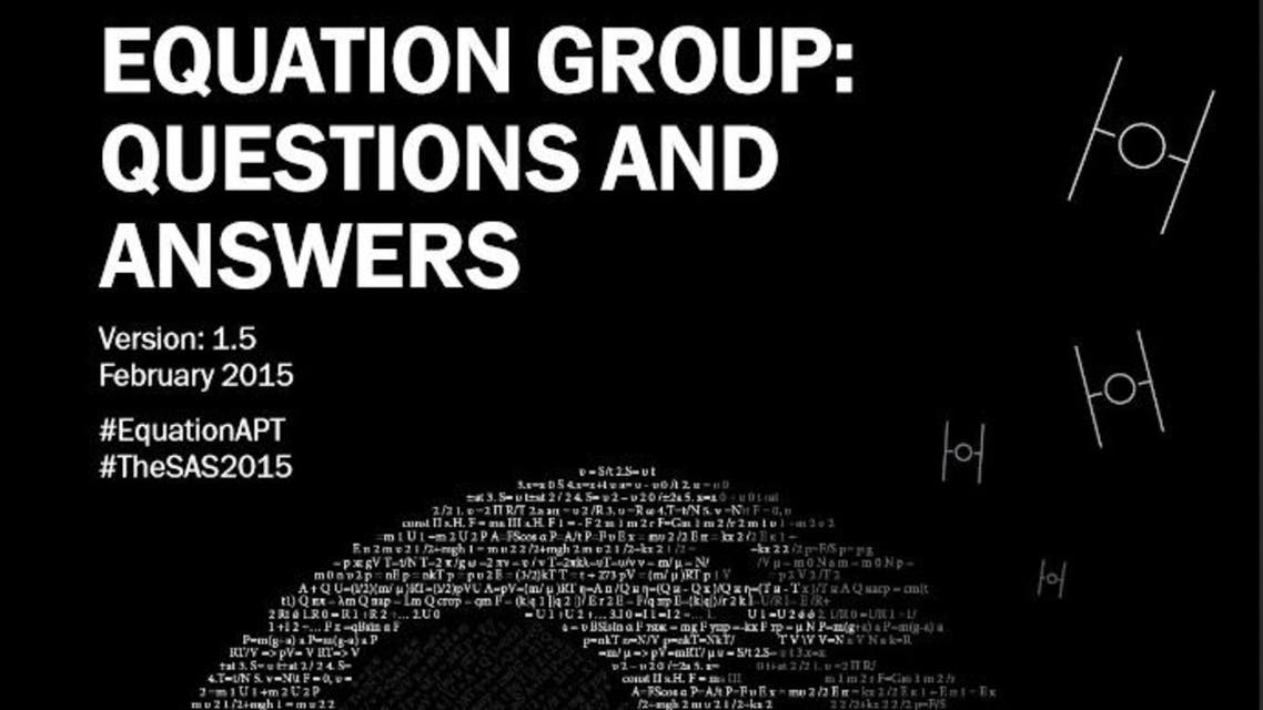 Equation Group Report
