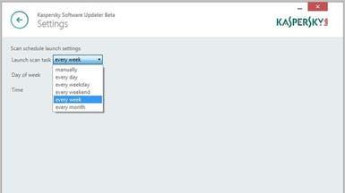 برنامج من كاسبرسكي للتأكد من تحديث البرامج