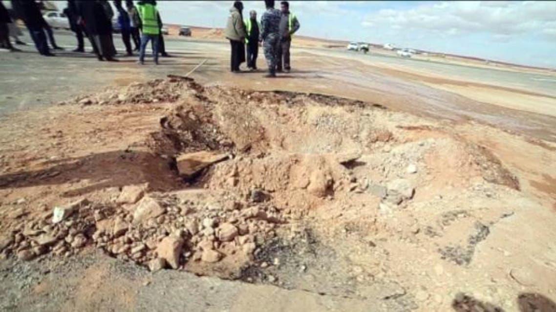فجر ليبيا تقصف مطار الزنتان رداً على الضربات المصرية