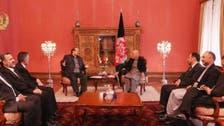 رییس جمهوری افغانستان با معاون رییس جمهوری ایران دیدار کرد