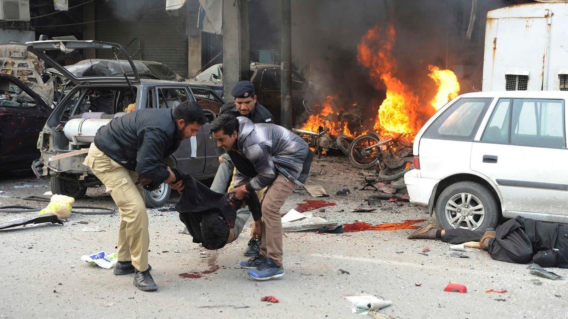 انفجار في باكستان