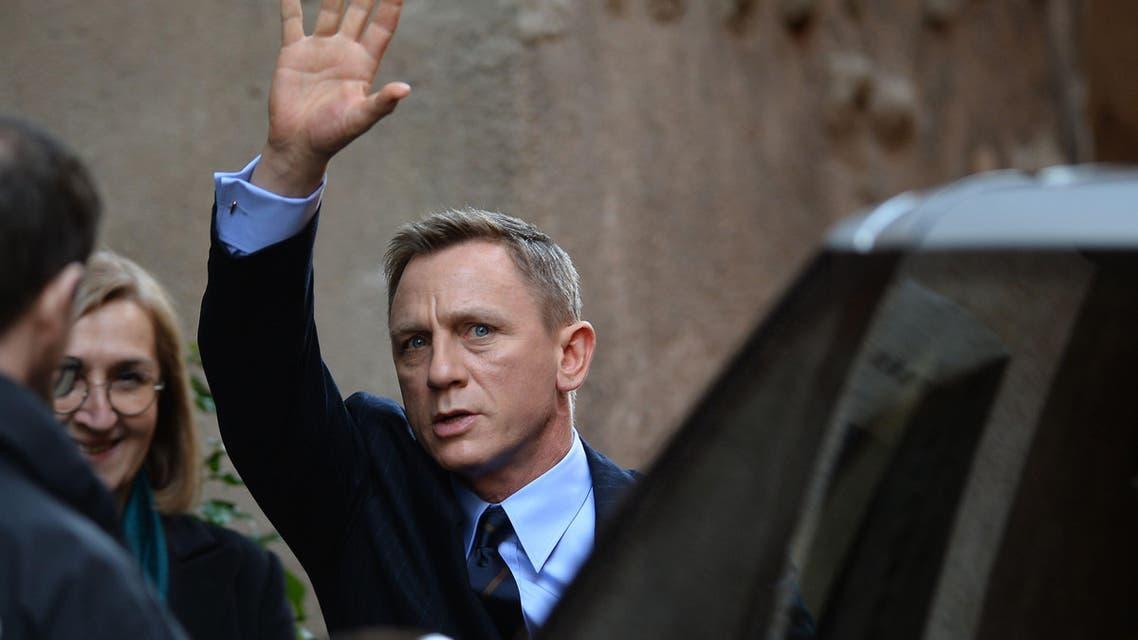 Daniel Craig James Bond AFP