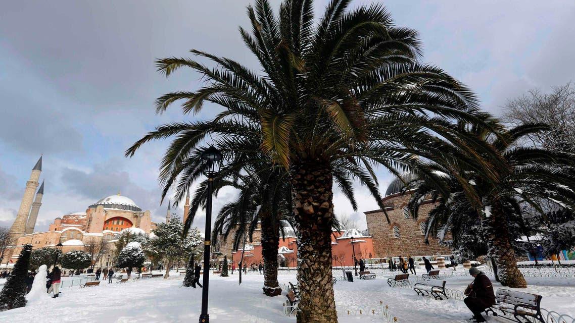 Turkey snow storm (Reuters)