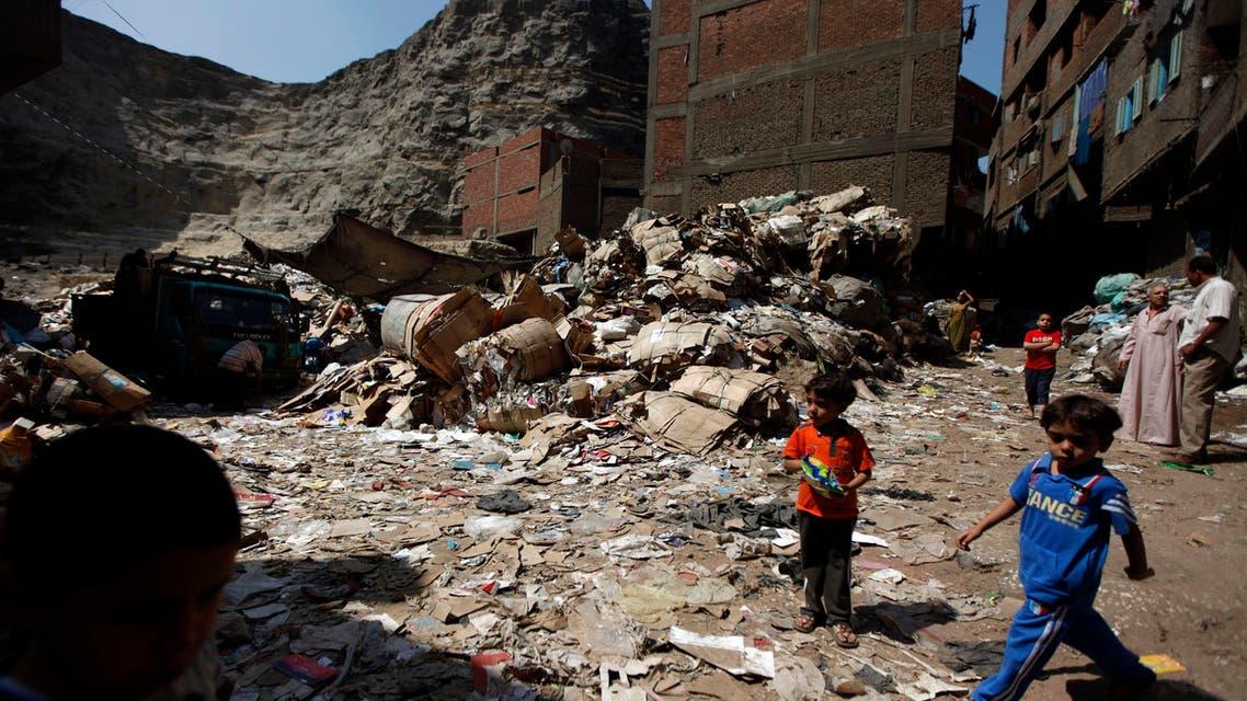 Egypt trash AP