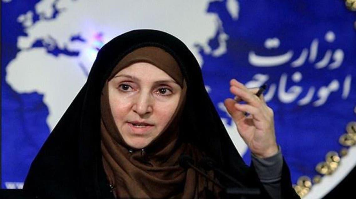 المتحدثة باسم وزارة الخارجية الإيرانية مرضية أفخم