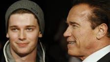 Schwarzenegger son involved in road run-in: police