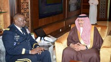 Saudi deputy crown prince meets U.S. CENTCOM chief