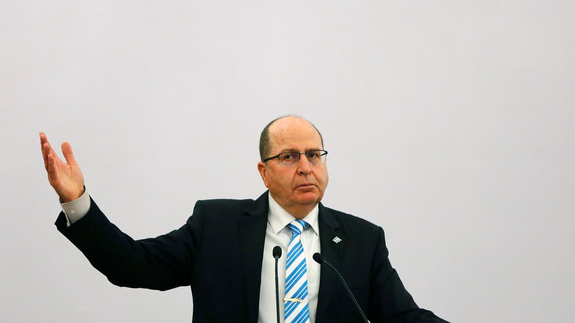 "Israeli Defence Minister Moshe Ya'alon gestures while addressing a gathering during a lecture themed ""Israel-India Partnership in the 21st Century,"" in New Delhi February 19, 2015. (Reuters)"