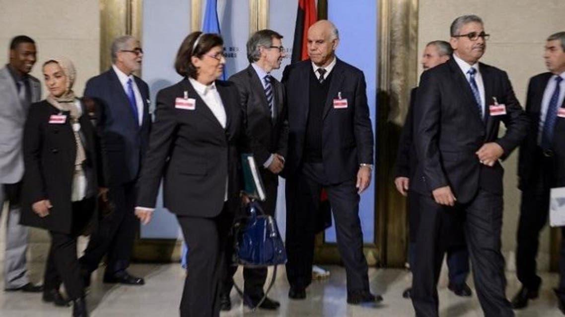 مفاوضات السلام بين الفرقاء الليبين
