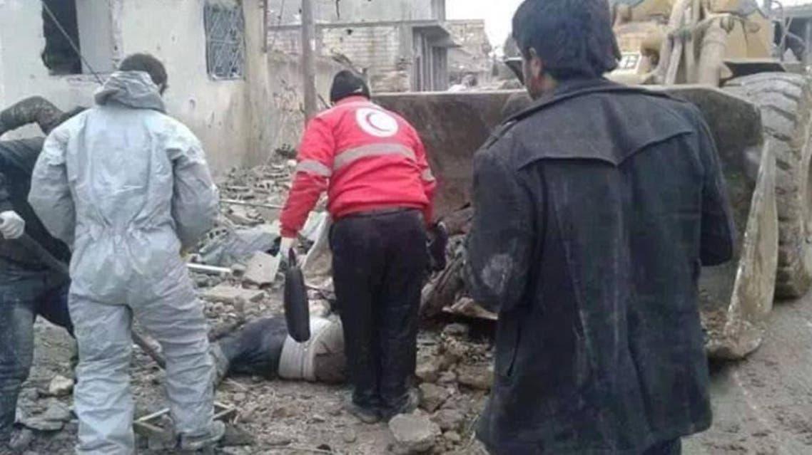 Kobane: The clean-up begins (MailOnline)