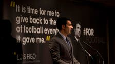 Figo proposes World Cup expansion if elected FIFA president