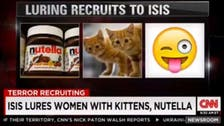 ISIS uses 'Nutella, kittens' to lure women recruits