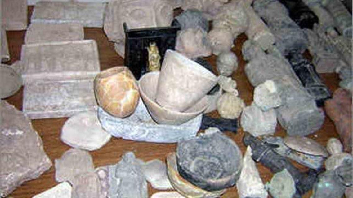 آثار عراقية مهربة تم العثور عليها في بريطانيا