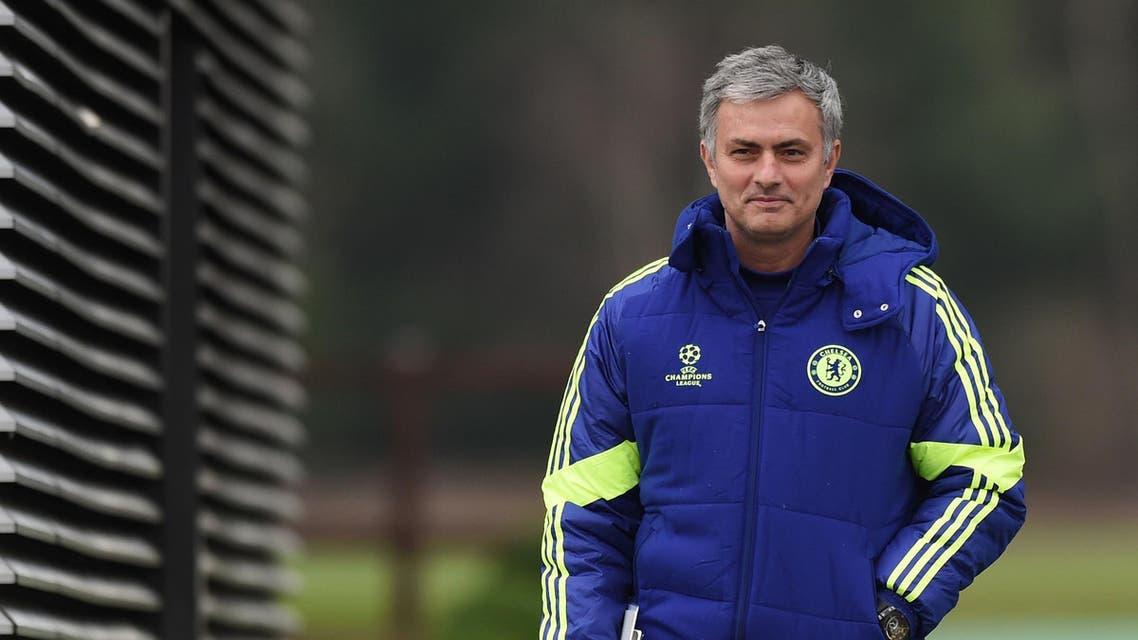 Chelsea manager Jose Mourinho arrives for training Action Images via Reuters