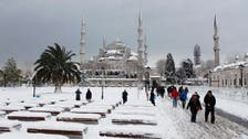 Snow breaks Istanbul record in Mideast cold snap