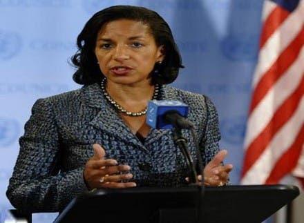 مستشارة الرئيس أوباما للأمن القومي سوزان رايس