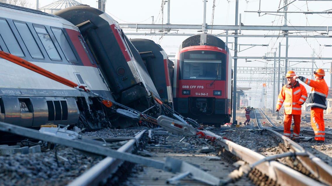 حادث قطار زيورخ