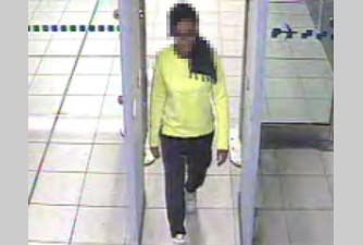 The third girl, who at the request of her parents, has remained unnamed. (Photo courtesy: Metropolitan police)