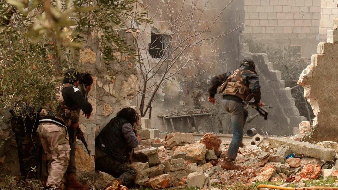 مقاتلو المعارضة في شمال حلب