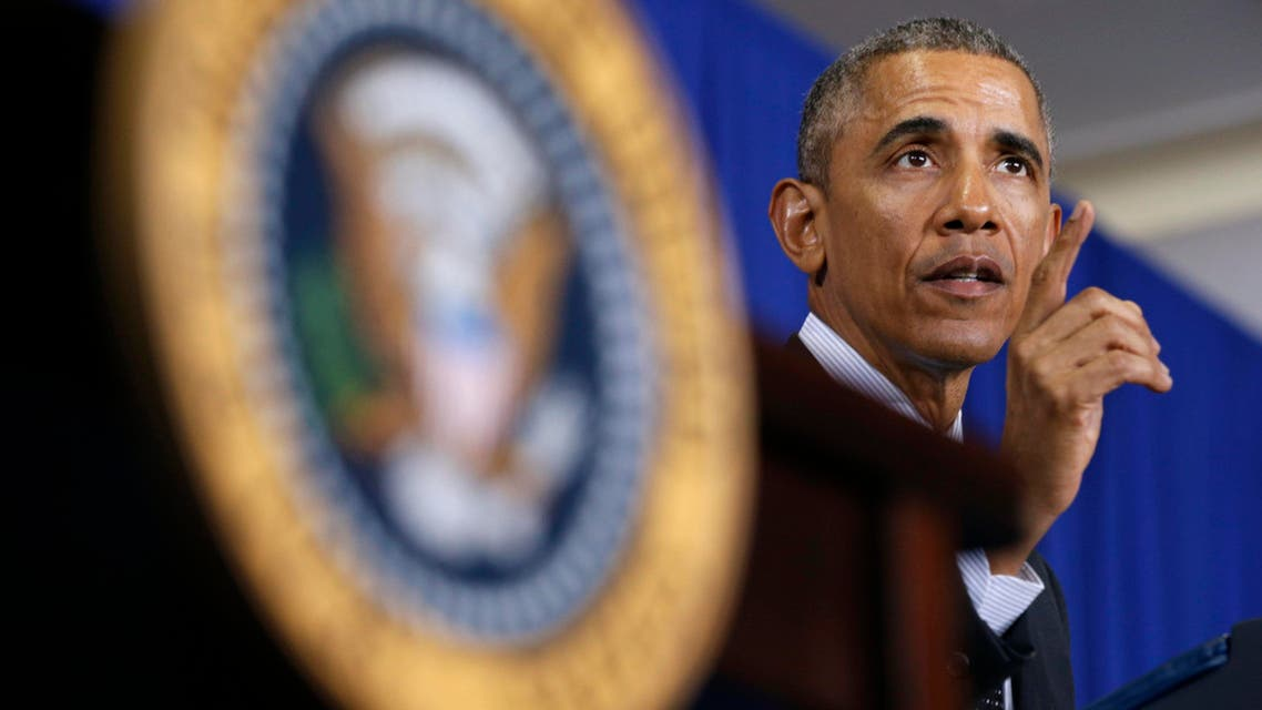 U.S. President Barack Obama speaks during an event in the Pullman neighborhood of Chicago February 19, 2015. (Reuters)