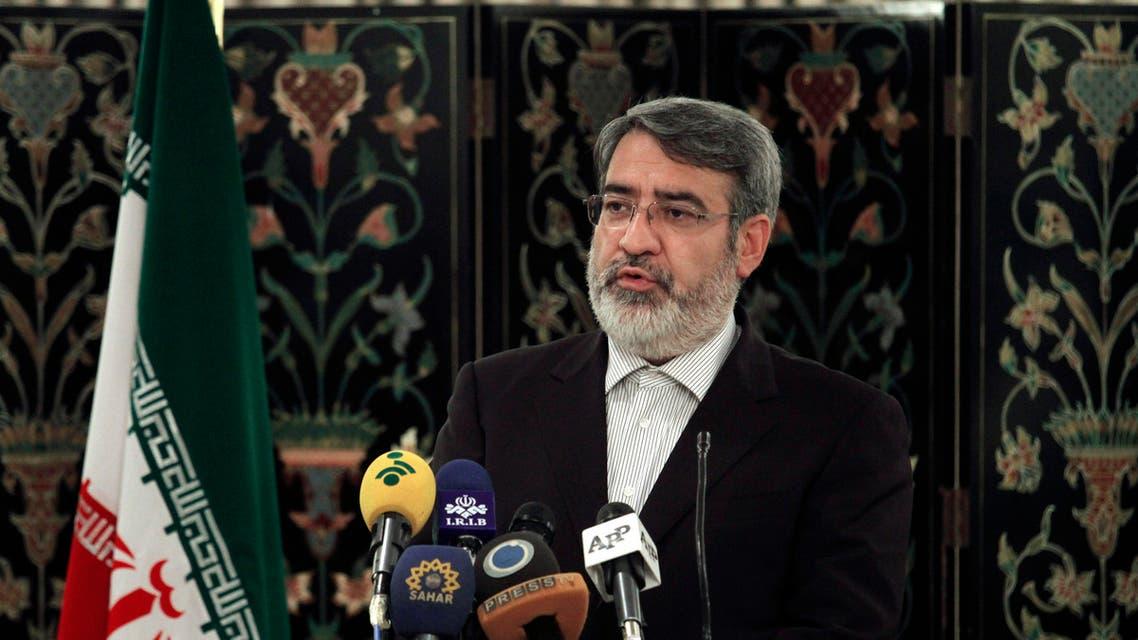 Iranian interior minister AP