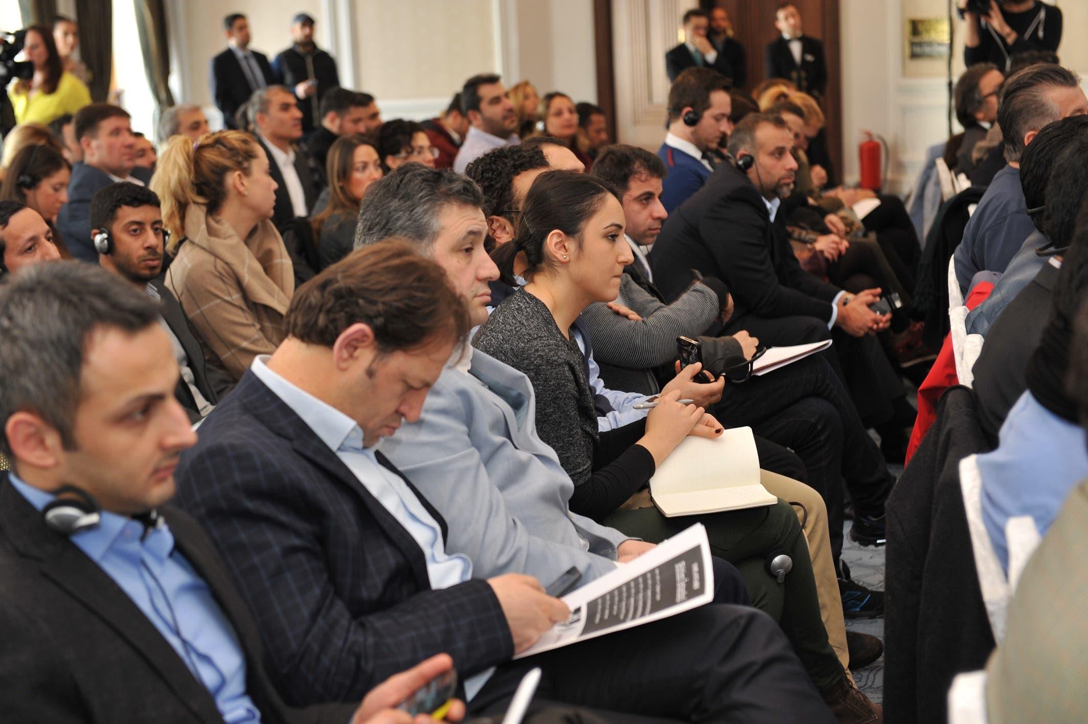 مزايا اسطنبول مؤتمر صحافي
