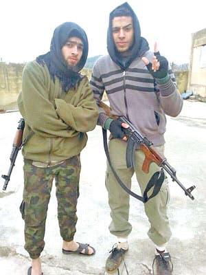 الغندور مع إسلام يكن في سوريا