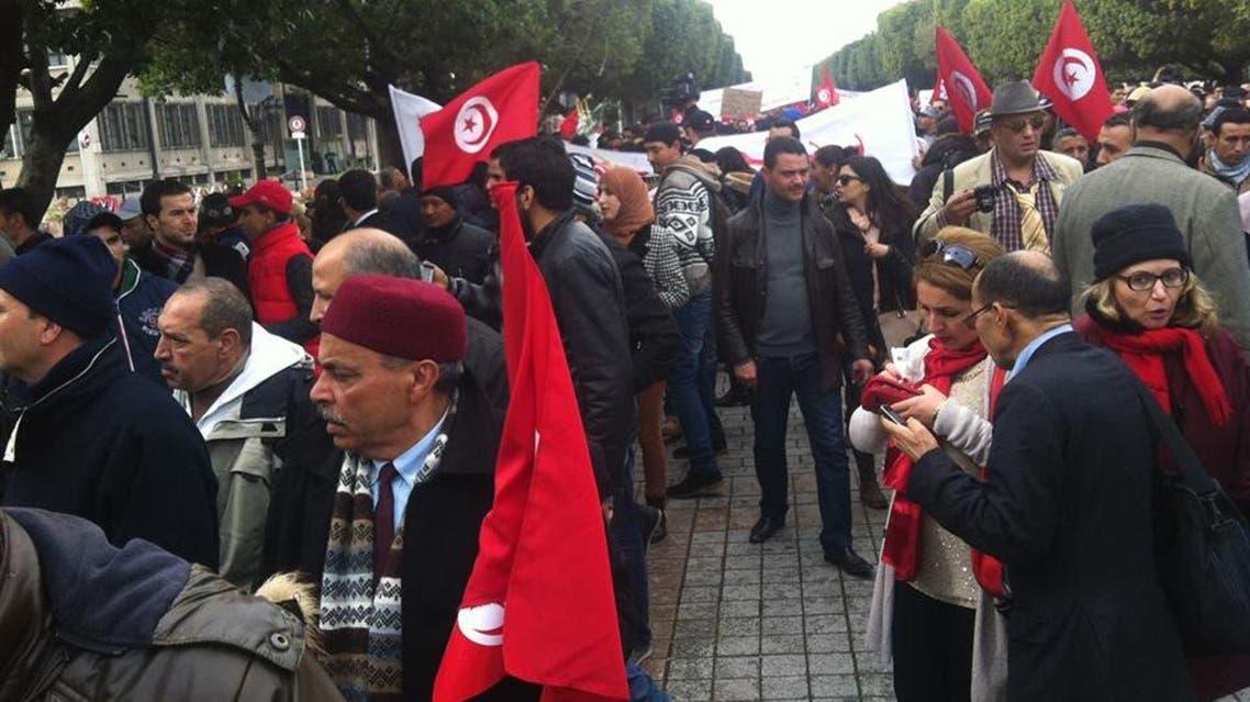 تونس مسيرة ضد الارهاب