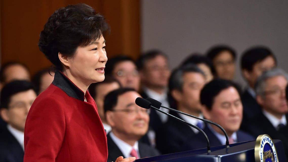 South Korea President Park Geun-hye AP