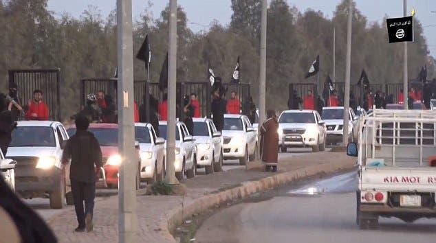 ISIS peshmerga video screen grab