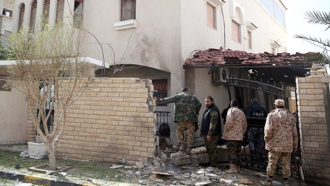 Libya Iran embassy Tripoli AFP