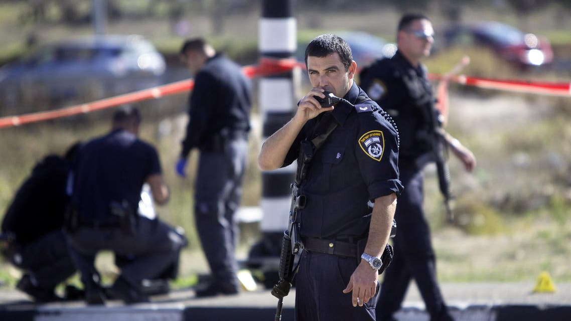 Jerusalem Israeli police AP