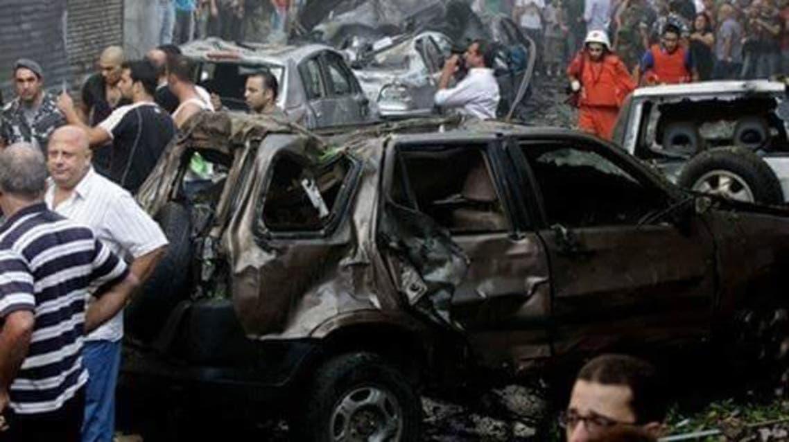انفجار في القرداحة في سوريا