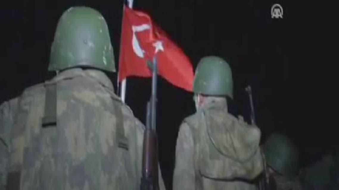 THUMBNAIL_ إجلاء الجنود الأتراك لرفات سليمان شاه من سوريا