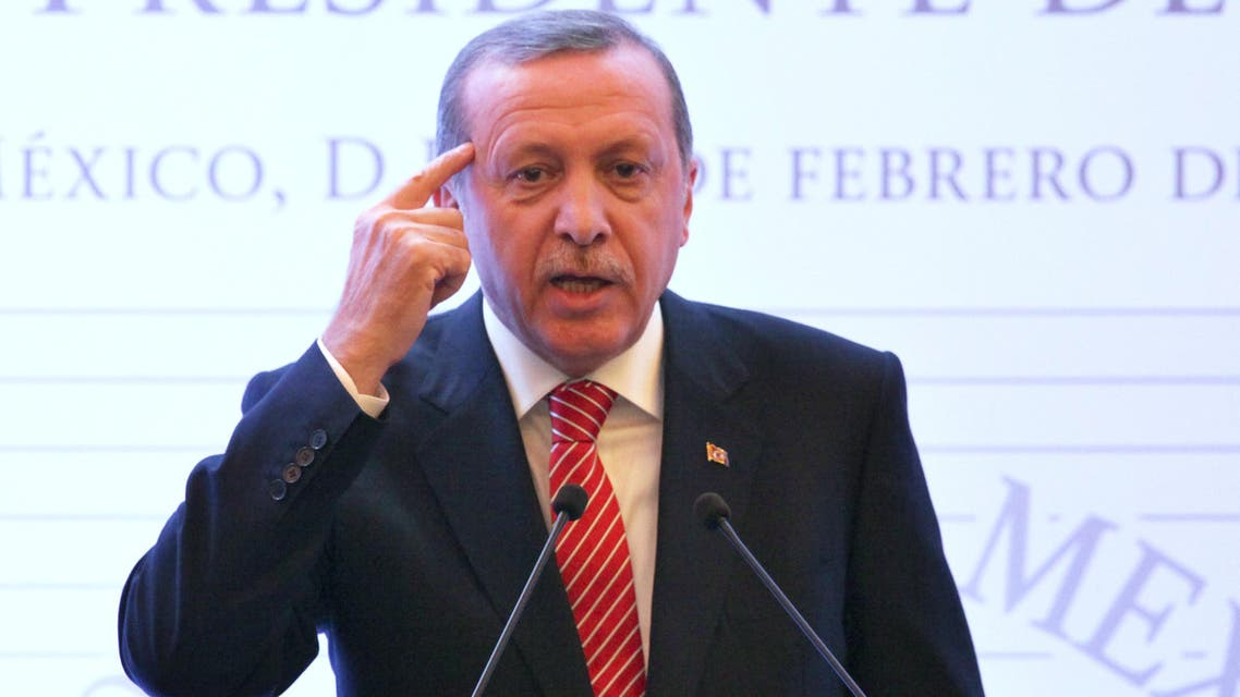Erdogan in Mexico AP