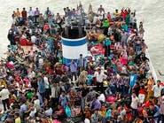 عشرات المفقودين بعد غرق عبارة في بنغلاديش