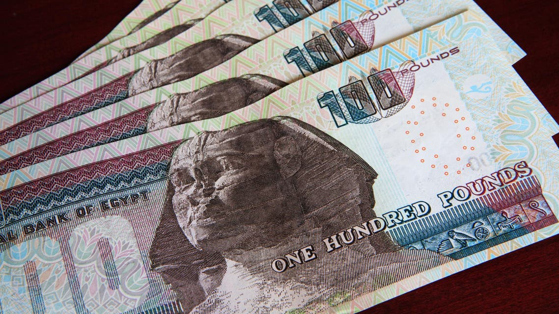 Egyptian pound steady at official auction, stronger on black market (Shutterstock)