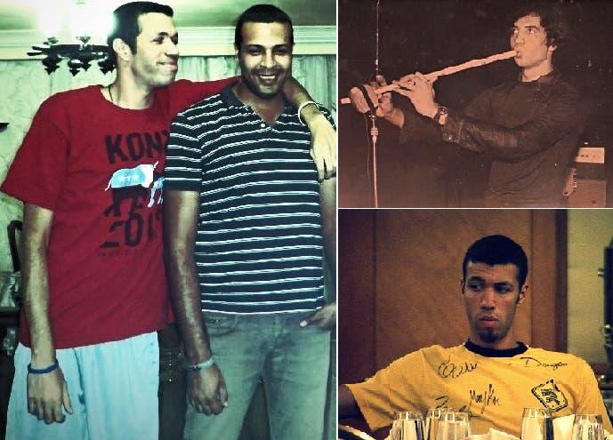 سلام (بالأحمر) مع شقيقه مروان، درس الموسيقى ثم الاعلام لسنتين بالجامعة، وبعدها تخصص بالمعلوماتية