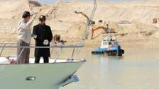 Sisi visits Suez Canal construction site
