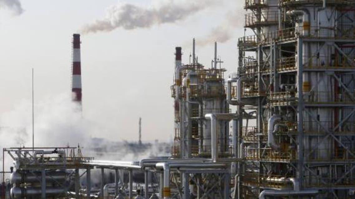 A general view of the Bashneft-Ufimsky refinery plant (Bashneft - UNPZ) is seen outside Ufa, Bashkortostan, Jan. 29, 2015. (Reuters)