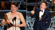Moore, Redmayne scoop top Oscars awards